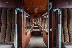 Old train abandoned
