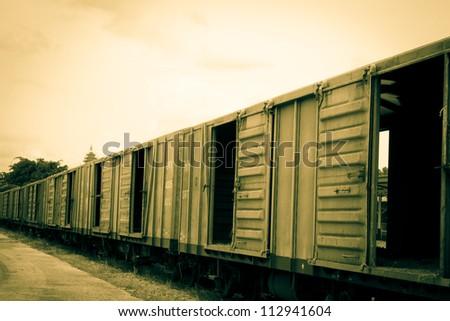 old train bogie