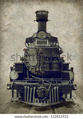 Old train - locomotive