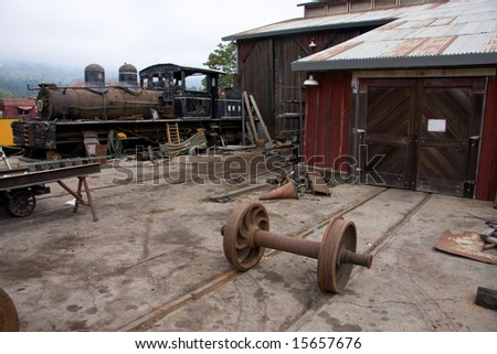 Old Train Shop