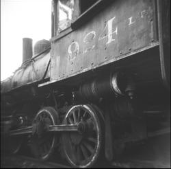 Old Train Through The Holga