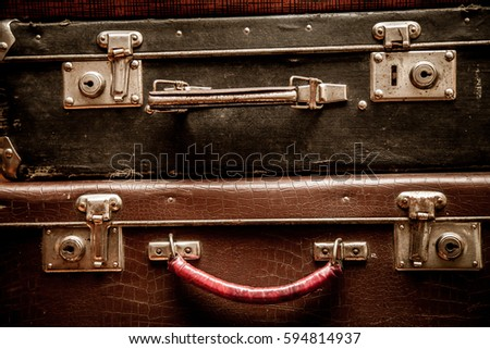 Image of: Travelers Notebook Old Travelers Luggages Ez Canvas Old Travelers Luggages Ez Canvas