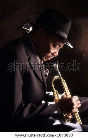Old Trumpet Player
