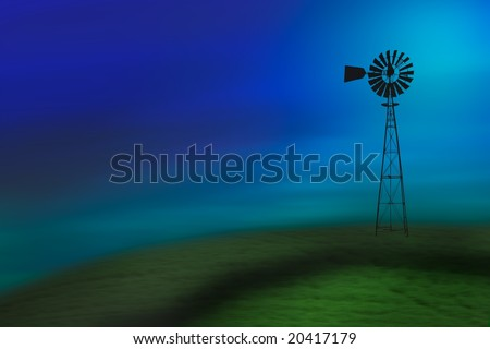 old turbine