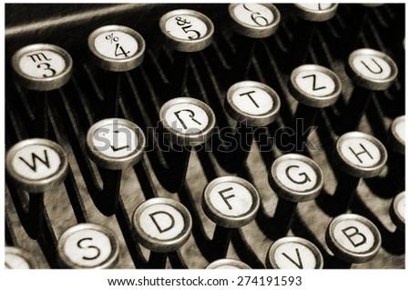 old typewriter - detail (7)