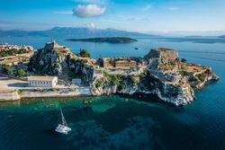 Old Venetian Fortress in Corfu, Greece
