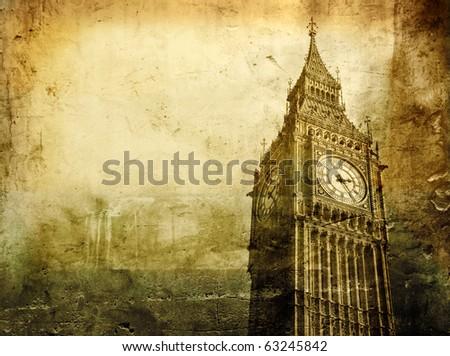 Old view of Big Ben