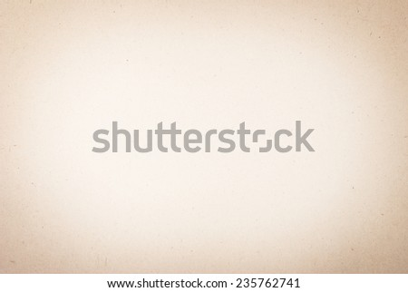 Old vintage beige paper background or texture