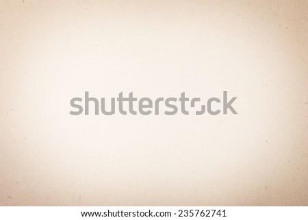 Old vintage beige paper background or texture