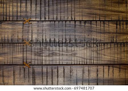 old vintage brashed wooden...