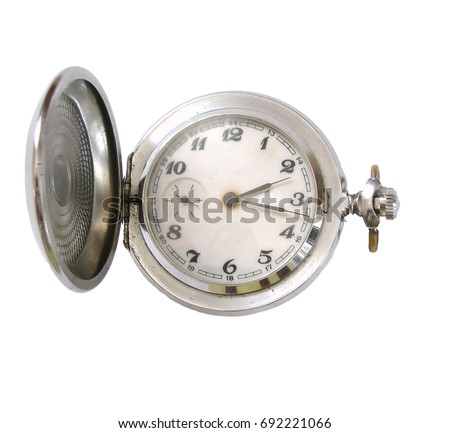 old vintage chain clock
