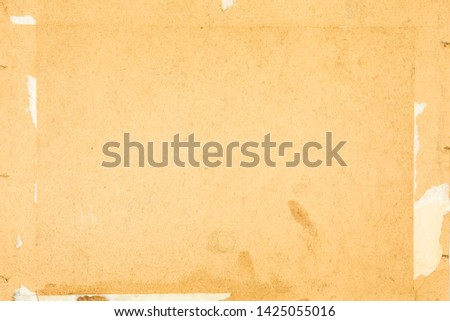Old vintage paper background, grungy texture  #1425055016
