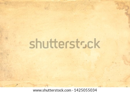 Old vintage paper background, grungy texture  #1425055034