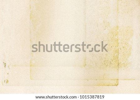 Old vintage paper background. Paper texture, Empty old paper. #1015387819