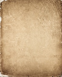 Old vintage paper texture. Book cover as background