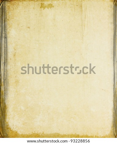 Old vintage paper texture for background