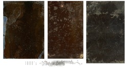 Old vintage tintype backgrounds