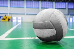 old volleyball at Gymnasium