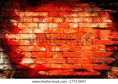 Old wall, abstract background, textures, expression, bricks