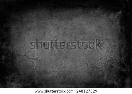 old wall background or texture with black vignette borders  - Shutterstock ID 248127529