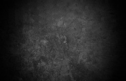 Old wall texture cement dark black and gray abstract grey color design are light with white gradient background.