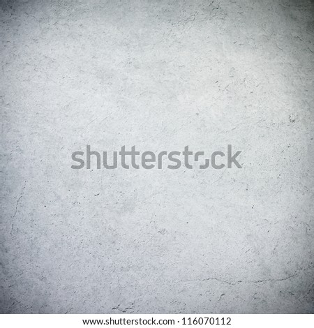 old wall texture grunge background white or grey wall with vignette