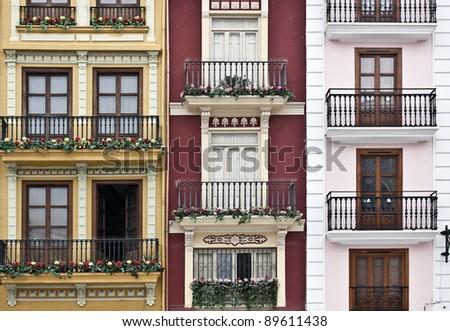 Old walls/ Valencia. Spain