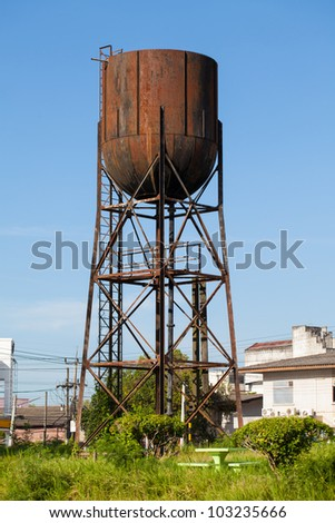 old Water Tank Tower #103235666