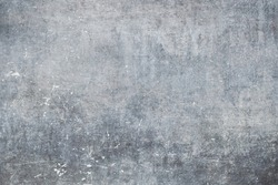 Old weathered metallic wall, grunge worn out background or texture