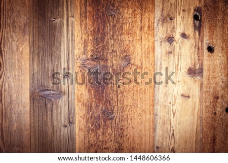 Old weathered wooden board background #1448606366
