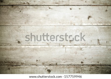Old weathered wooden boards texture and background with corner vignetting