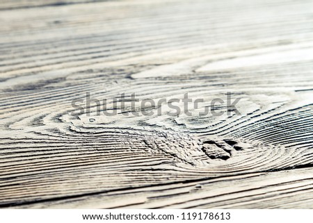 Old weathered wooden table background no. 2