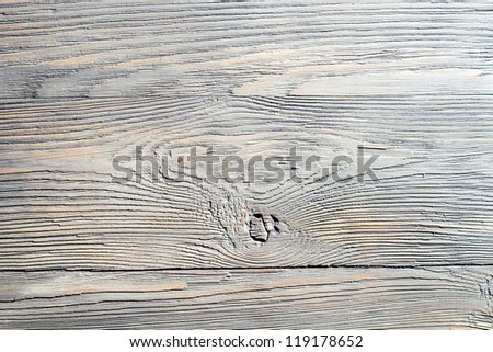 Old weathered wooden table background no. 1