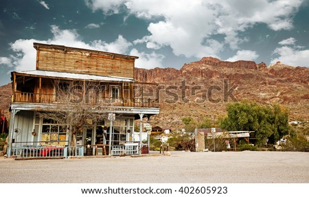 old west general store in the...