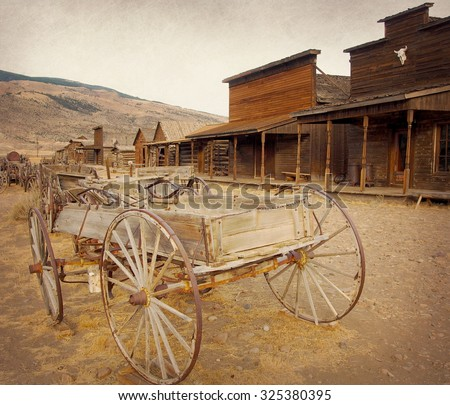 old west  old trail town  cody  ...