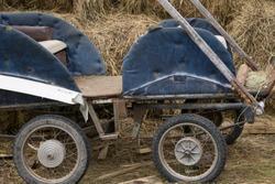 Old west wagon wheels unitedstates vintage wagon