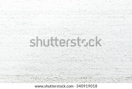 old white brick wall texture for background Ready for product display montage. #340919018