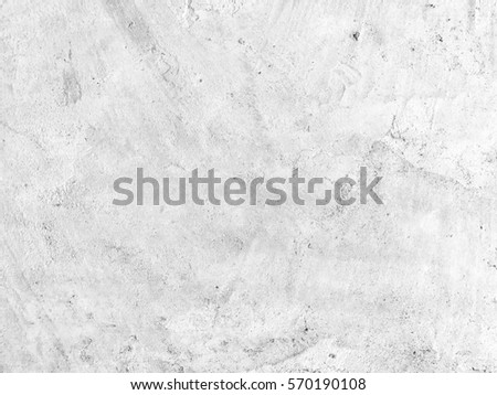 Old white concrete texture with grunge for abstract background. #570190108