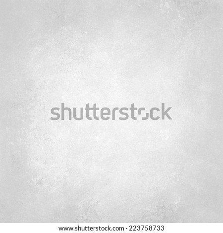 old white paper background texture design, soft faded white with faint gray grunge texture, solid plain white background