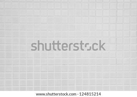 old white tiled wall background