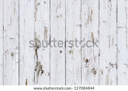 Old white weathered wooden background no. 1