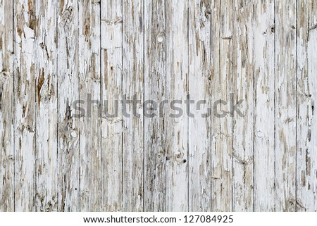Old white weathered wooden background no. 9