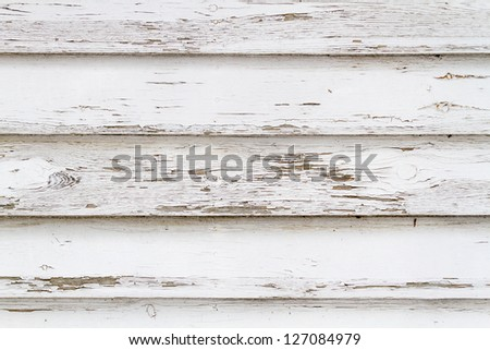 Old white weathered wooden background no. 4