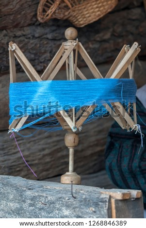old winder of wool #1268846389