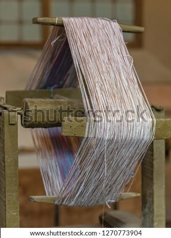 old winder of wool #1270773904
