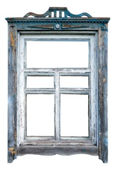 Old window frame