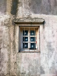 Old window in Shek O - Hong Kong