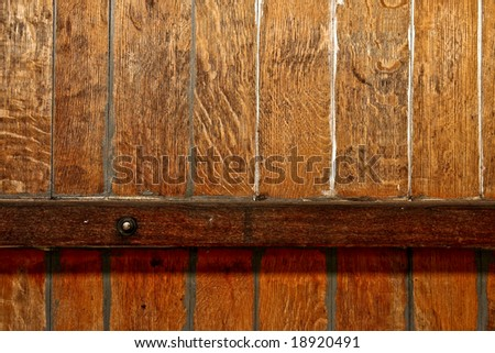 old wine barrel texture - stock photo