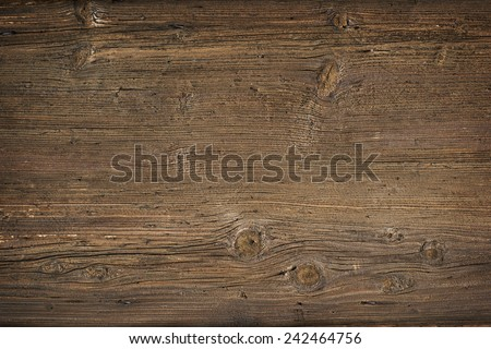 old wood background overhead...