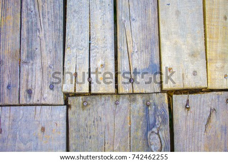 old wood board floor background texture #742462255